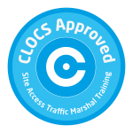 clocs site access traffic marshal badge